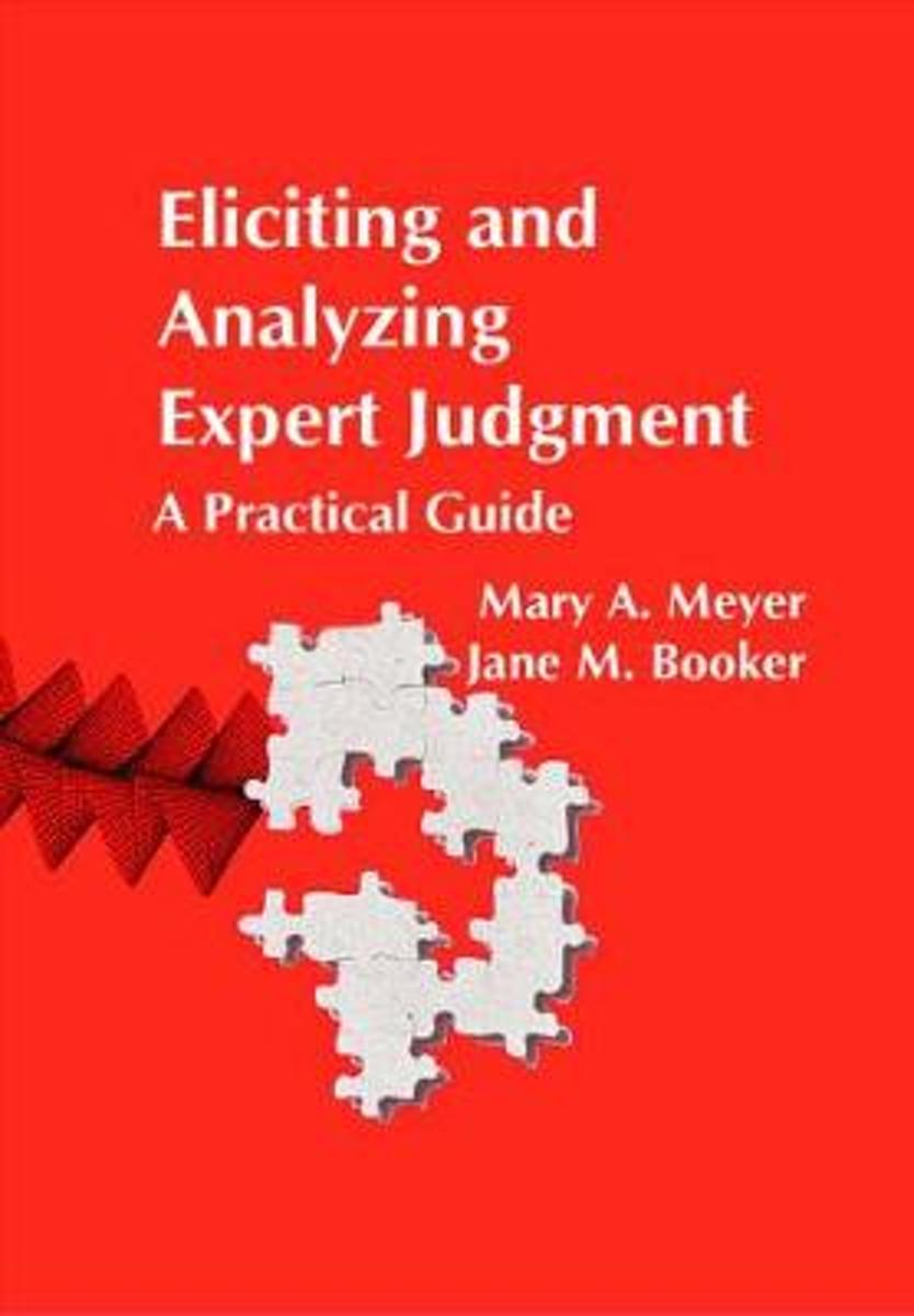 Eliciting and Analyzing Expert Judgement