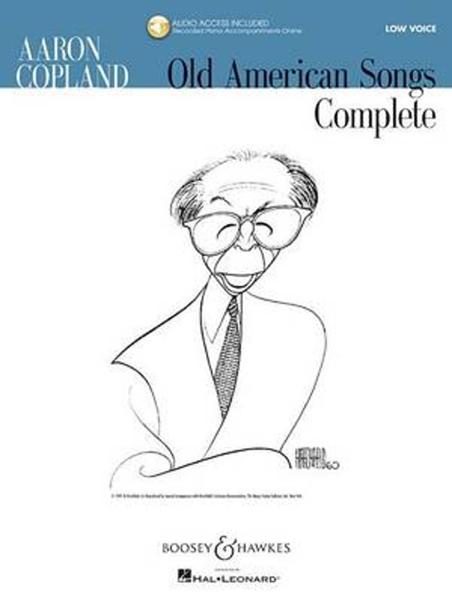 Aaron Copland - Old American Songs Complete (Low Voice)