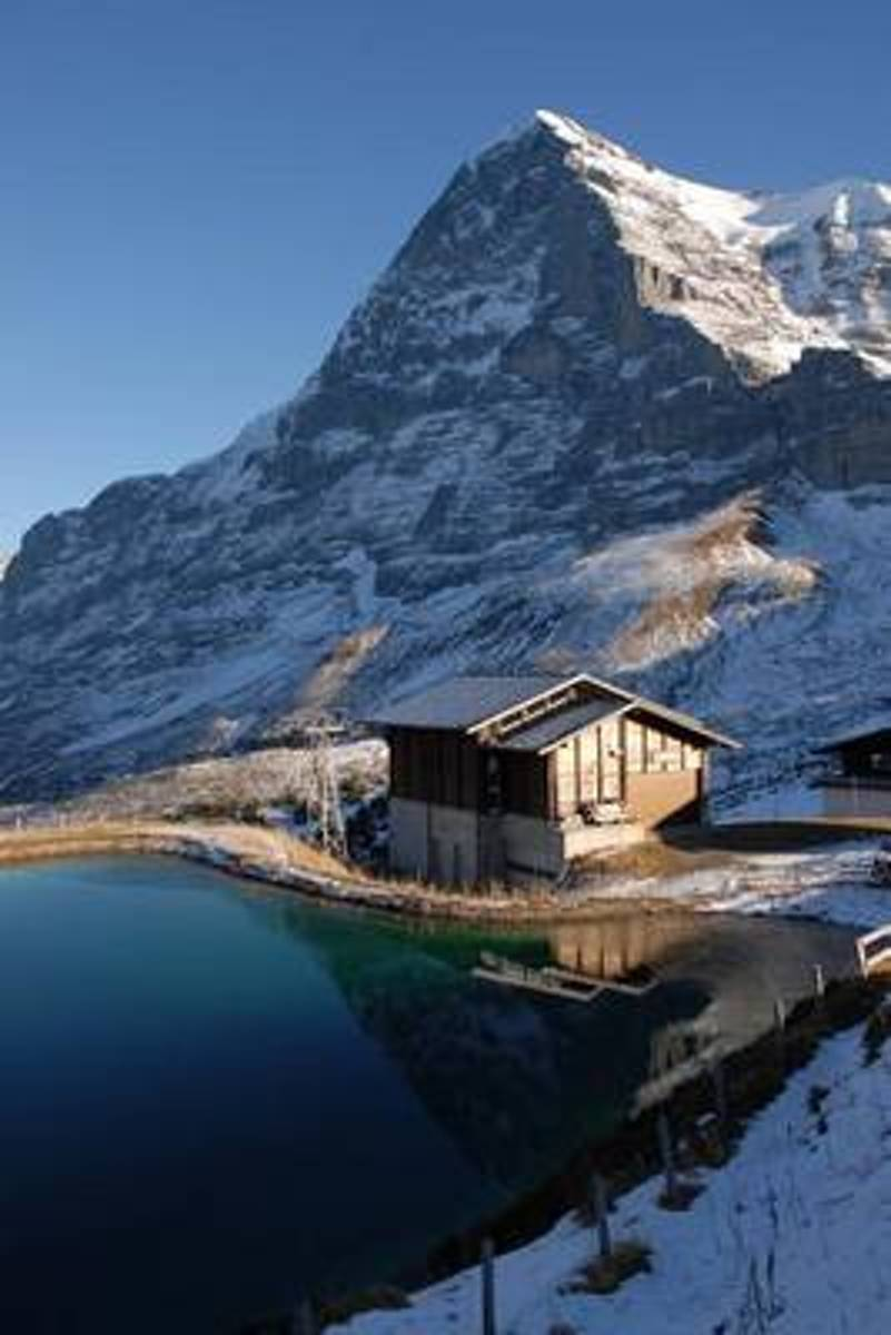 North Face of Eiger Mountain in Switzerland Journal