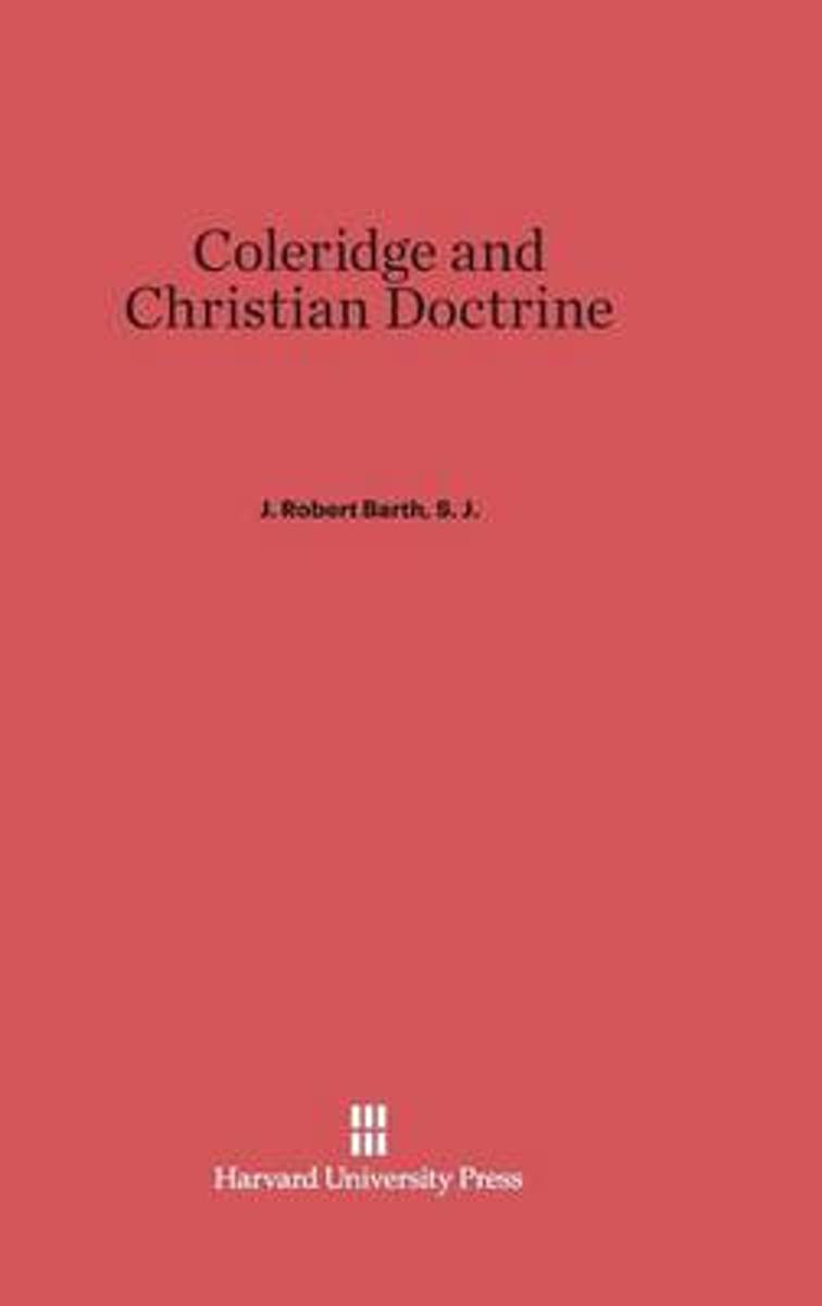 Coleridge and Christian Doctrine