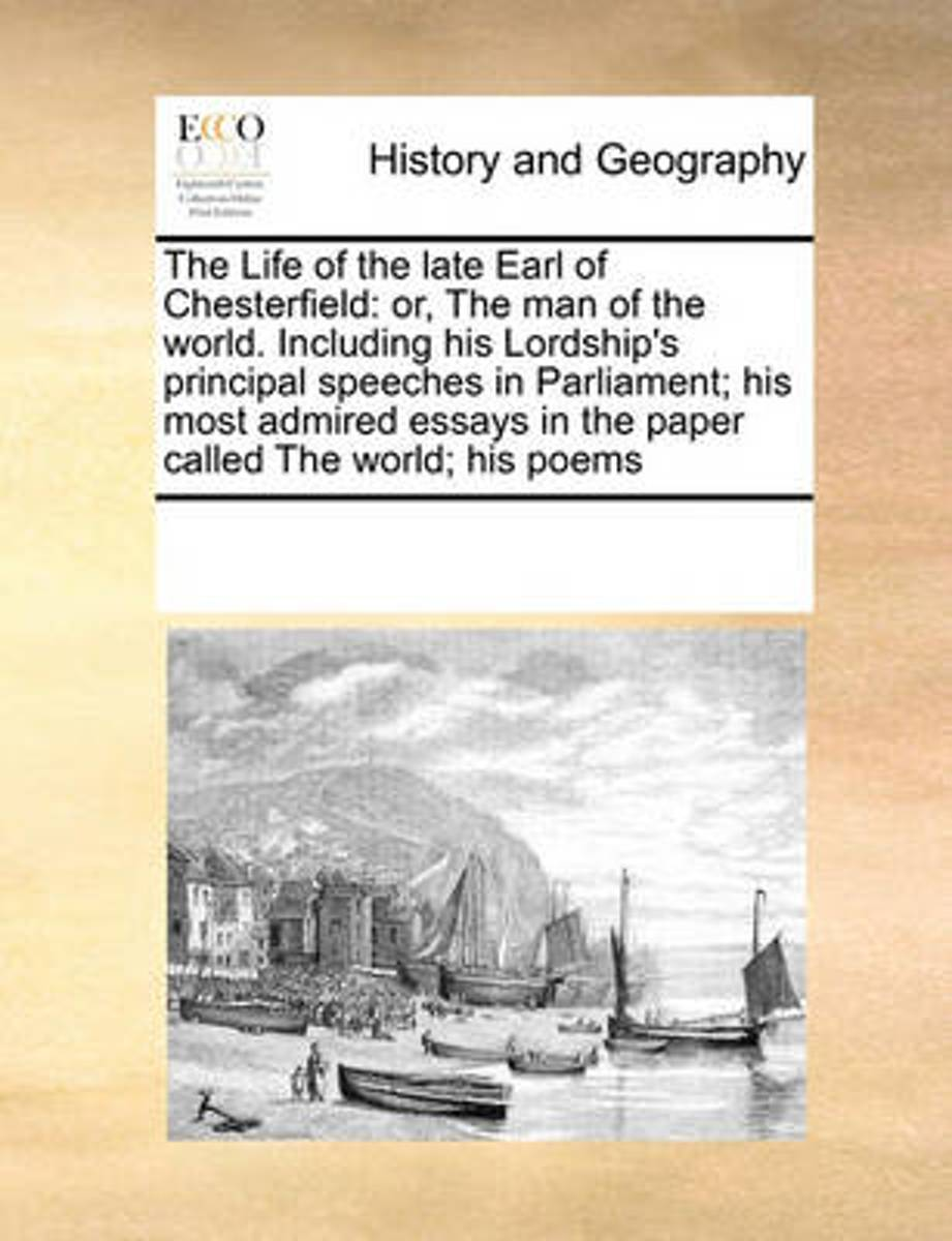 The Life of the Late Earl of Chesterfield