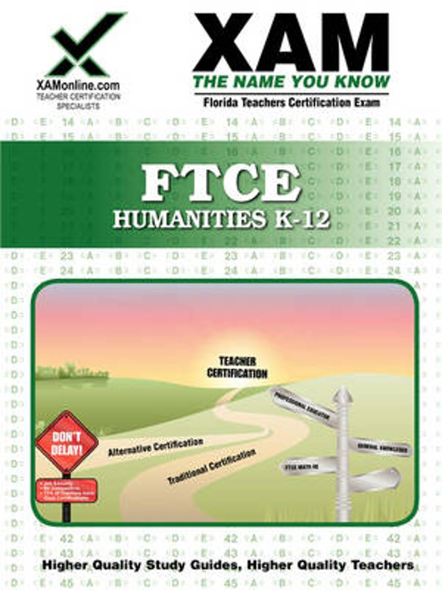 Ftce Humanities K-12 Teacher Certification Test Prep Study Guide