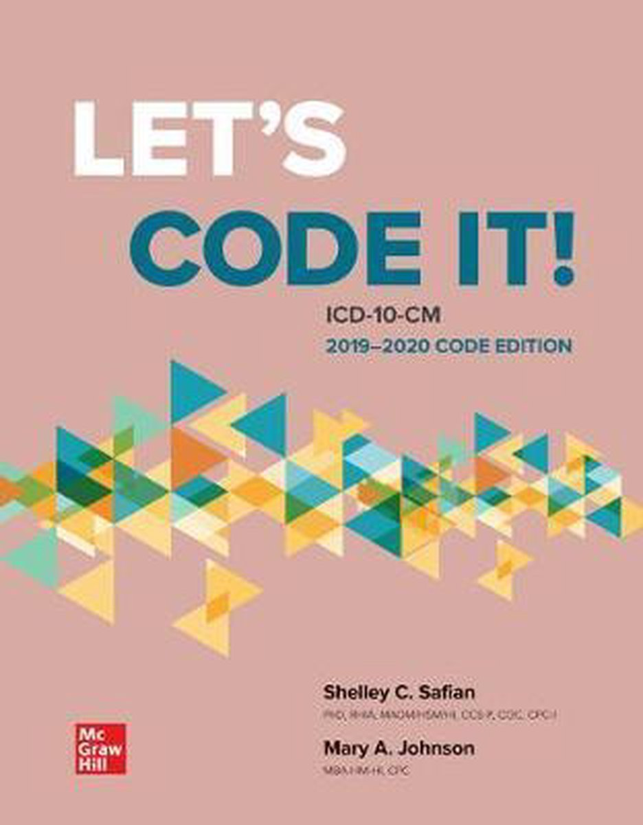 Loose Leaf for Let's Code It! ICD-10-CM 2019-2020 Code Edition
