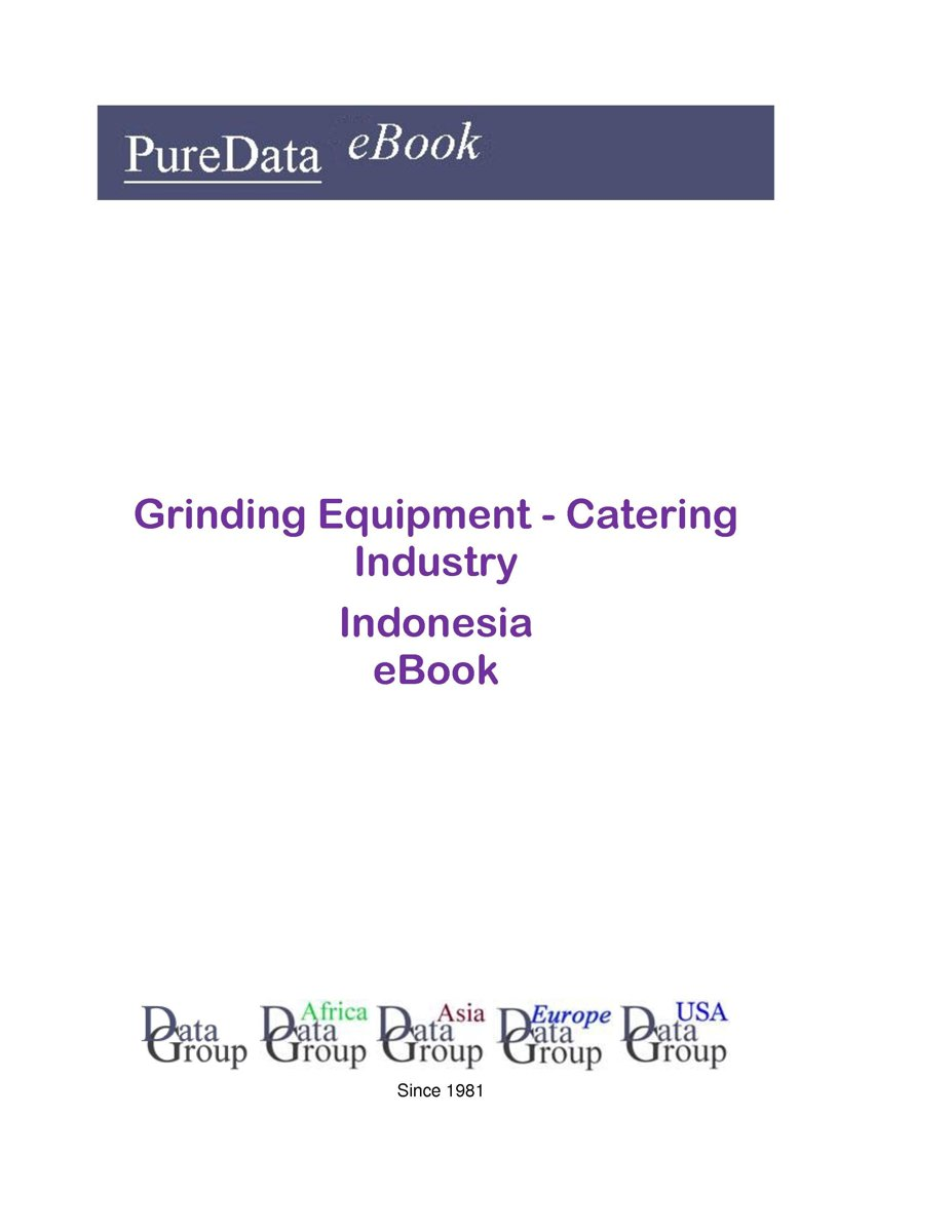 Grinding Equipment - Catering Industry in Indonesia