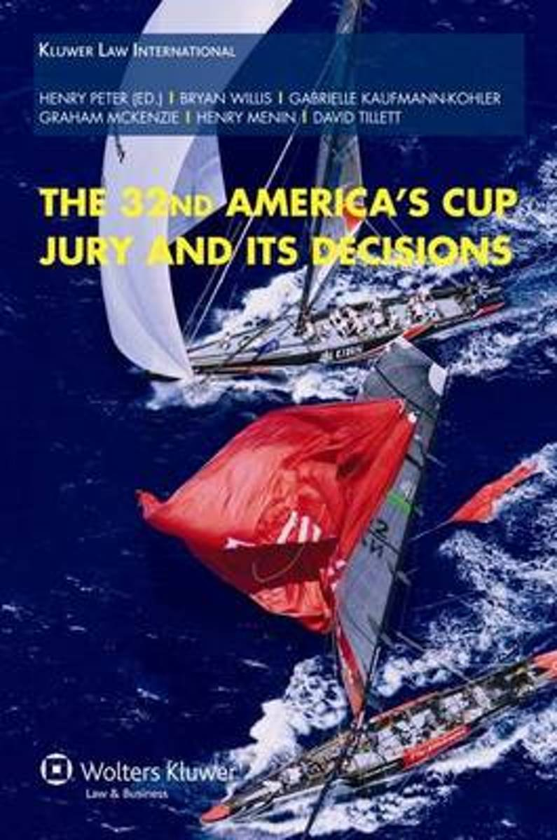 The 32nd America's Cup Jury and Its Decisions