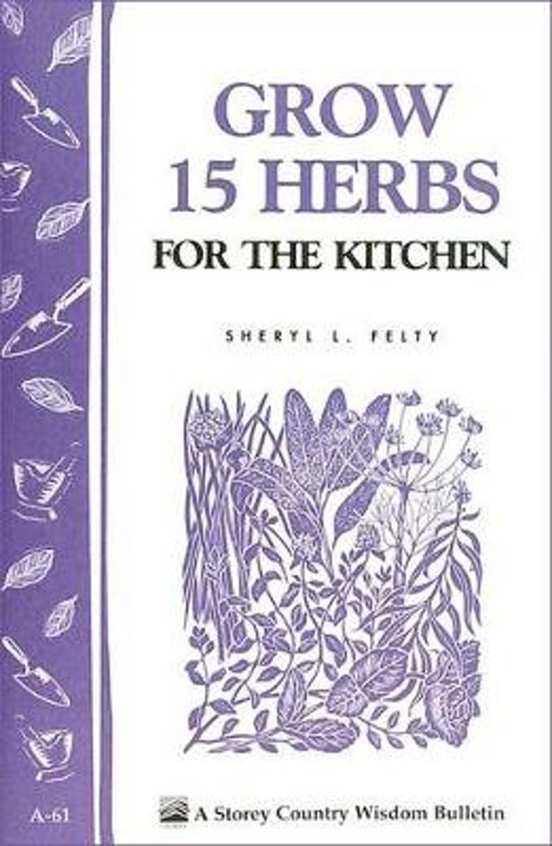 Country Wisdom Grow 15 Herbs for the Kitchen