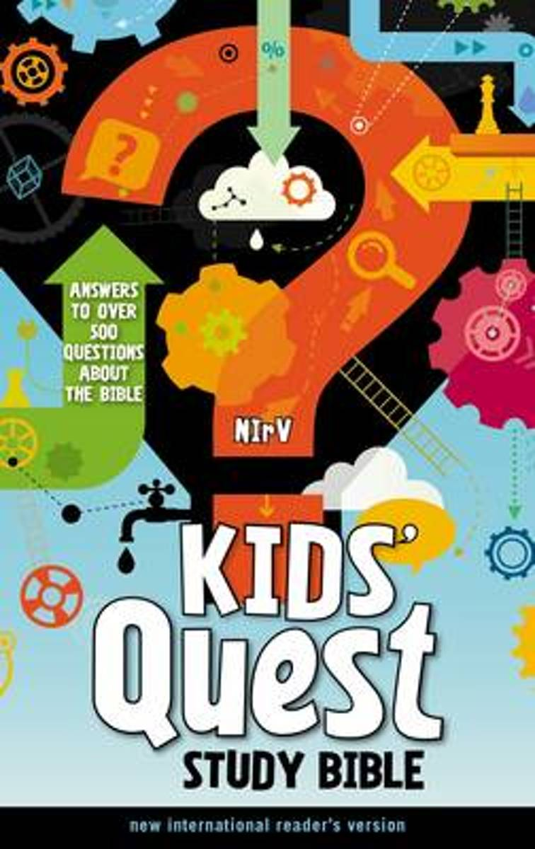NIrV, Kids' Quest Study Bible, Hardcover