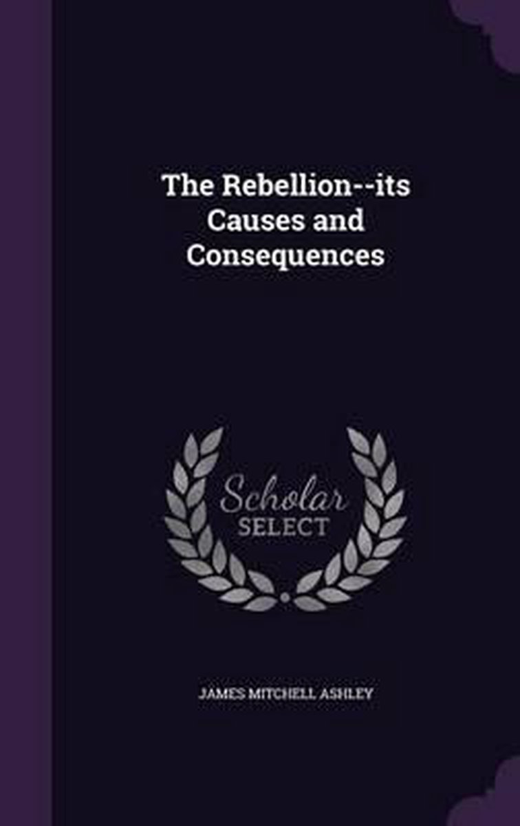The Rebellion--Its Causes and Consequences