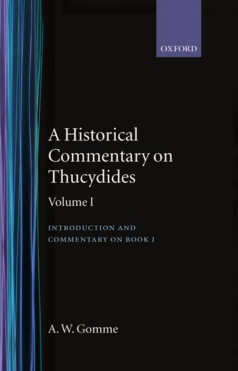 An An Historical Commentary on Thucydides
