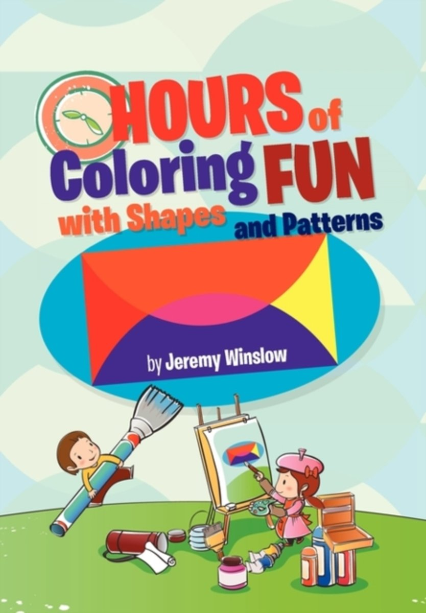 Hours of Coloring Fun with Shapes and Patterns