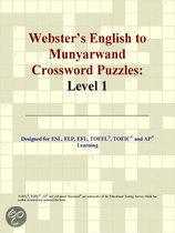 Webster's English to Munyarwand Crossword Puzzles