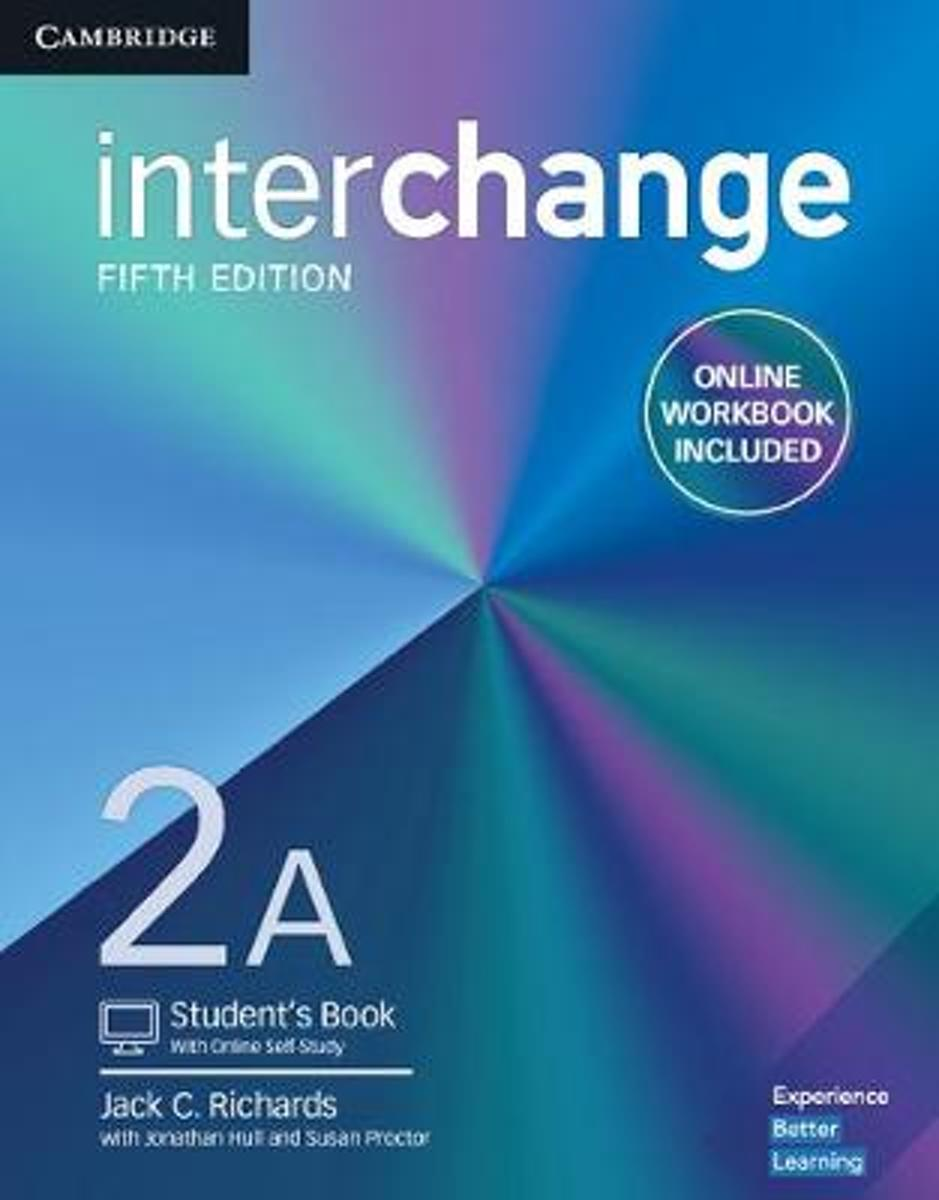 Interchange Level 2A Student's Book with Online Self-Study and Online Workbook