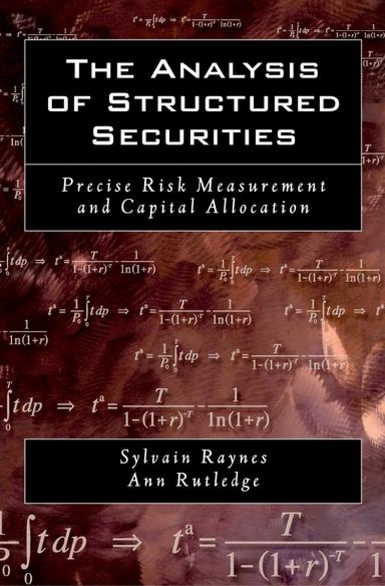 The Analysis of Structured Securities