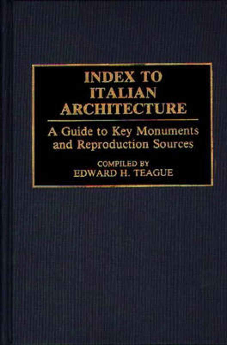 Index to Italian Architecture