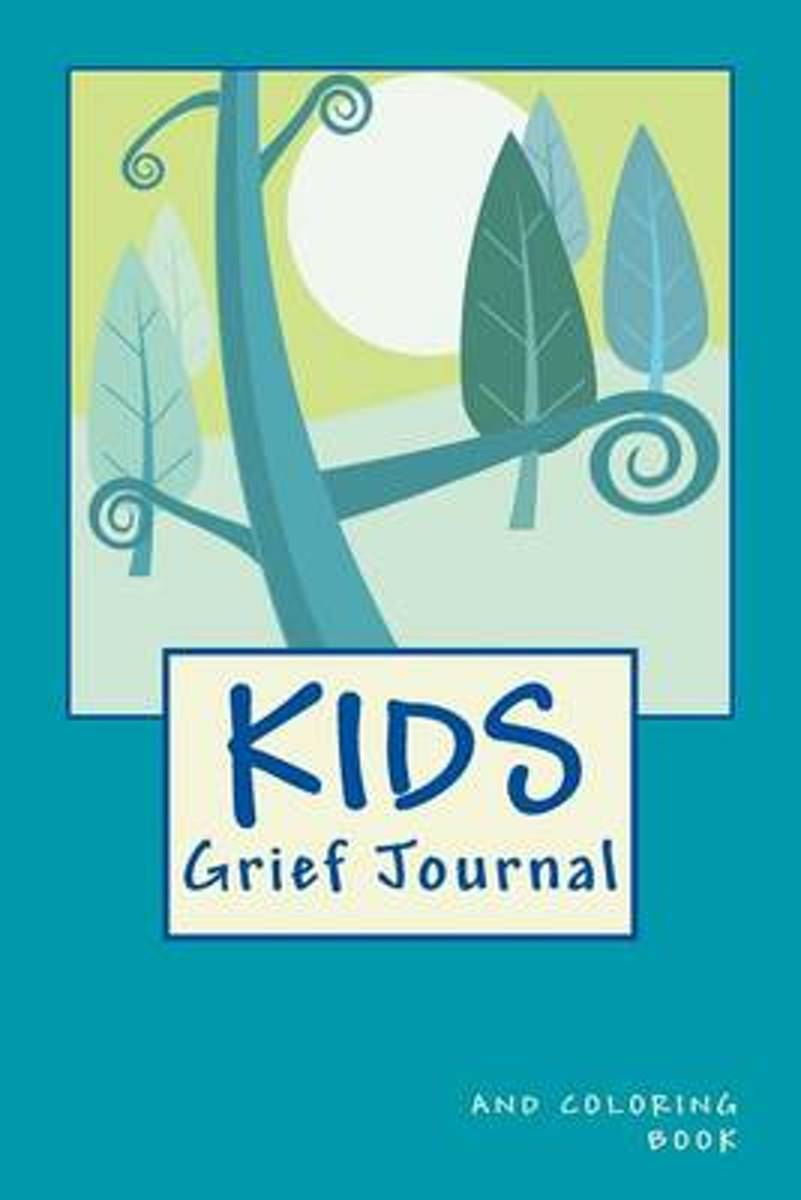 Kids Grief Journal and Coloring Book