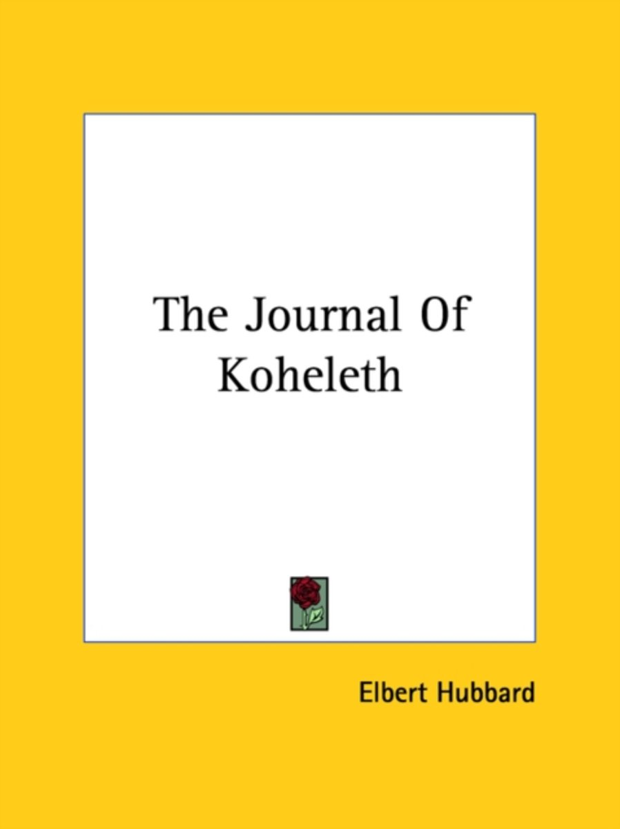 The Journal of Koheleth