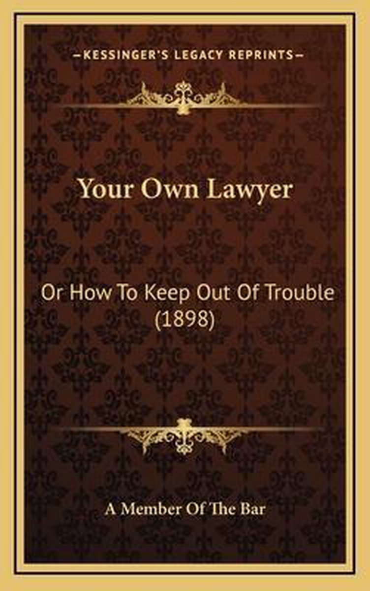 Your Own Lawyer