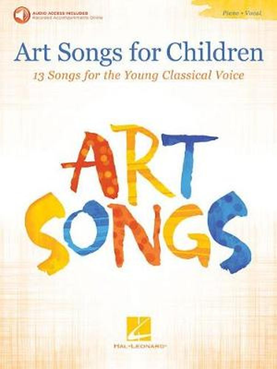 Art Songs For Children (Book/Audio)