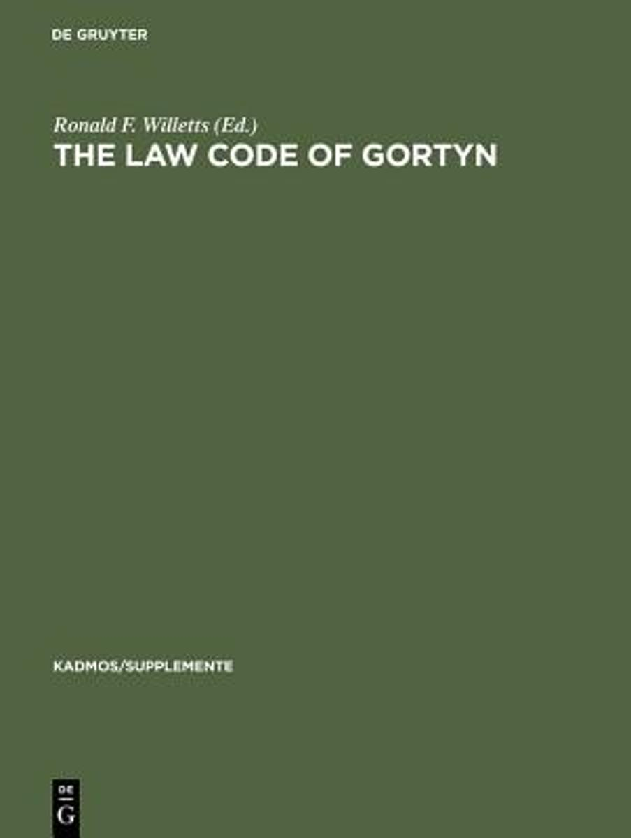 The Law Code of Gortyn