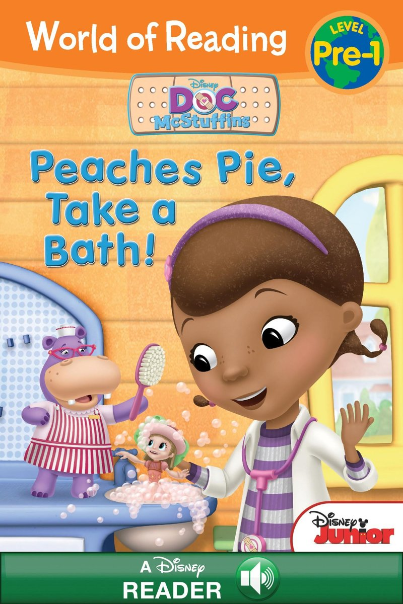 World of Reading: Doc McStuffins: Peaches Pie, Take a Bath!