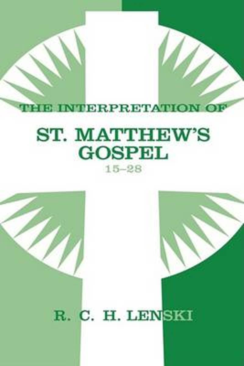 Interpretation of St.Matthew's Gospel