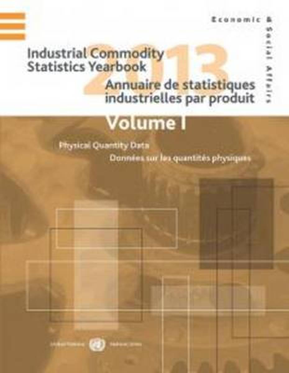 Industrial commodity statistics yearbook 2013