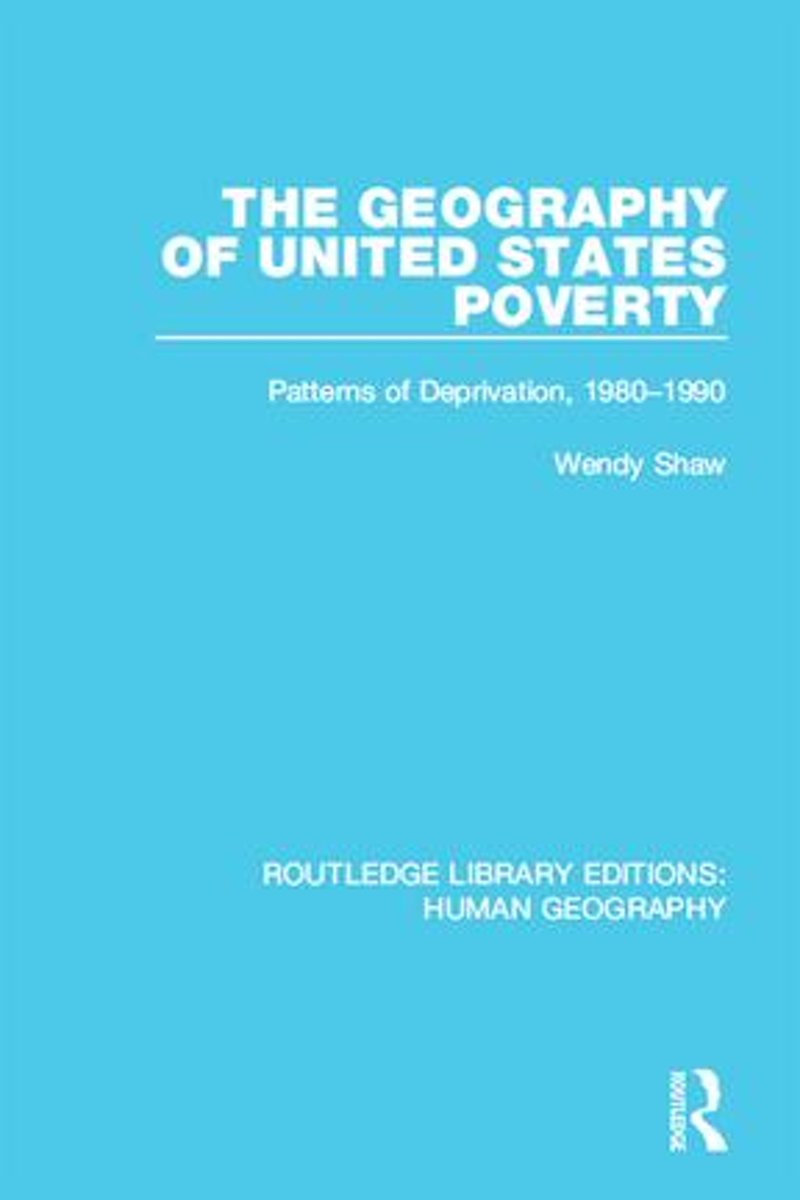The Geography of United States Poverty