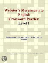 Webster's Meruimenti to English Crossword Puzzles