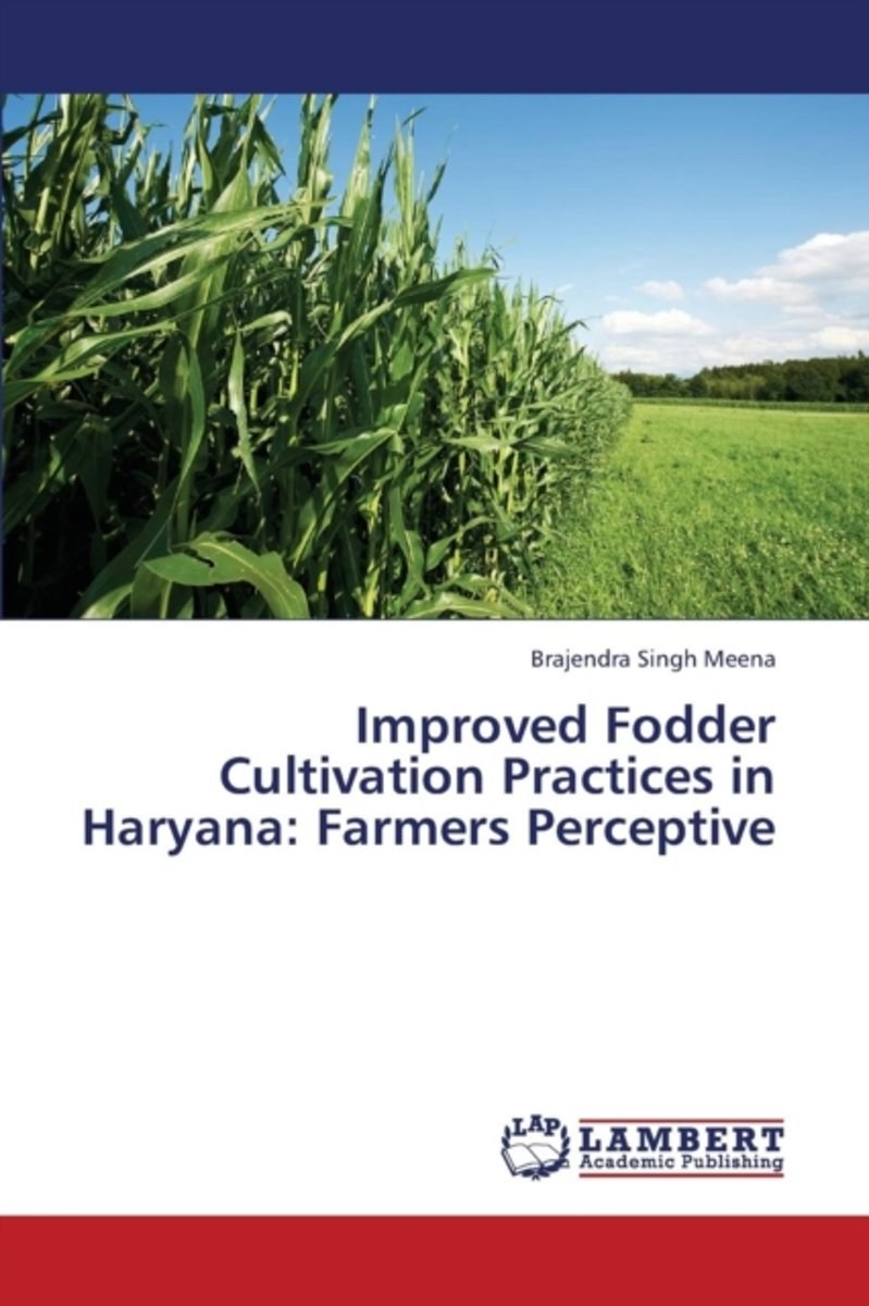 Improved Fodder Cultivation Practices in Haryana