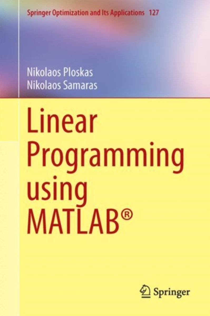Linear Programming using MATLAB (R)