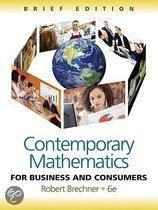 Contemporary Mathematics for Business and Consumers, Brief Edition