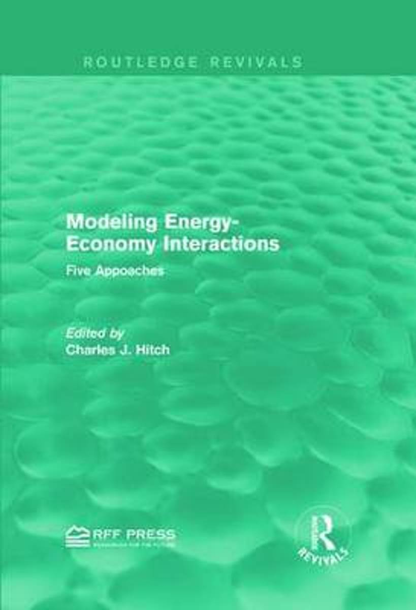 Modeling Energy-Economy Interactions