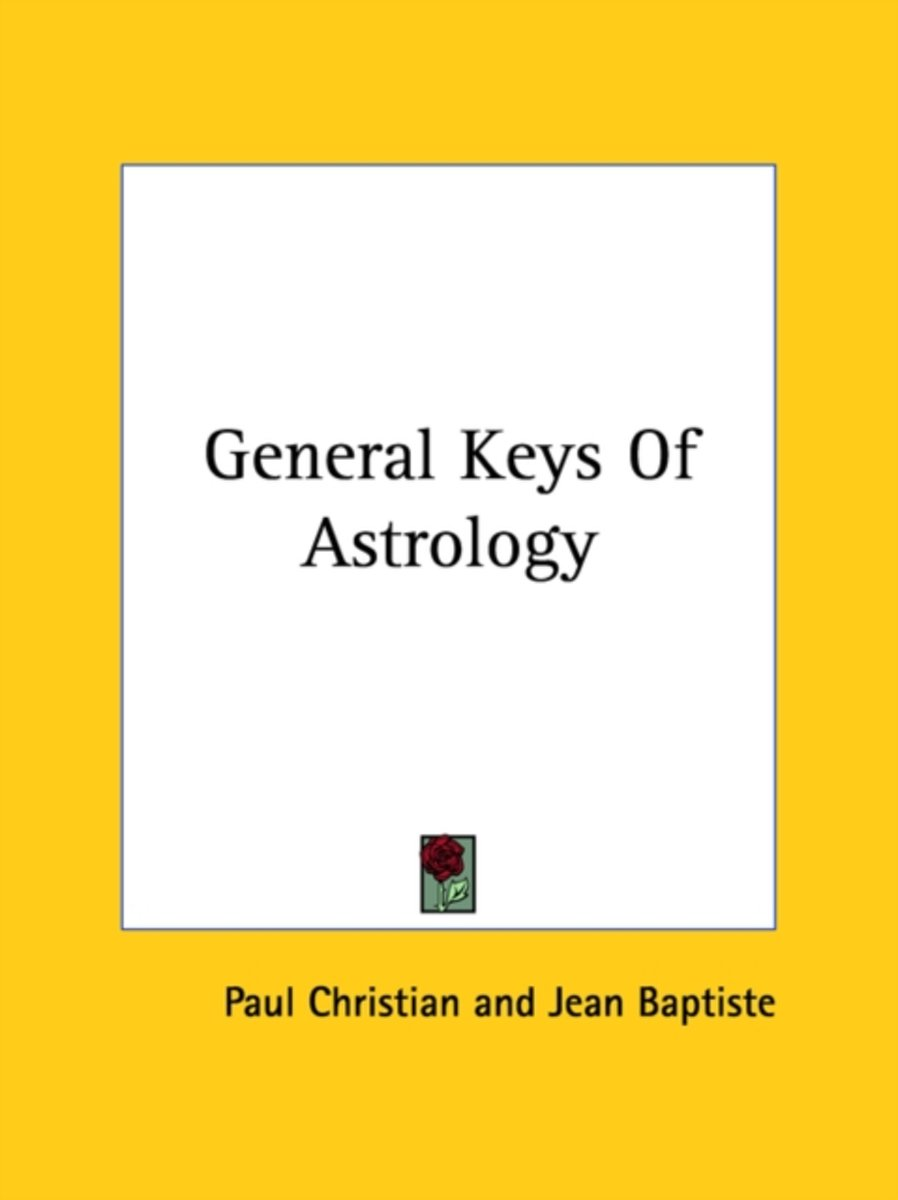 General Keys of Astrology