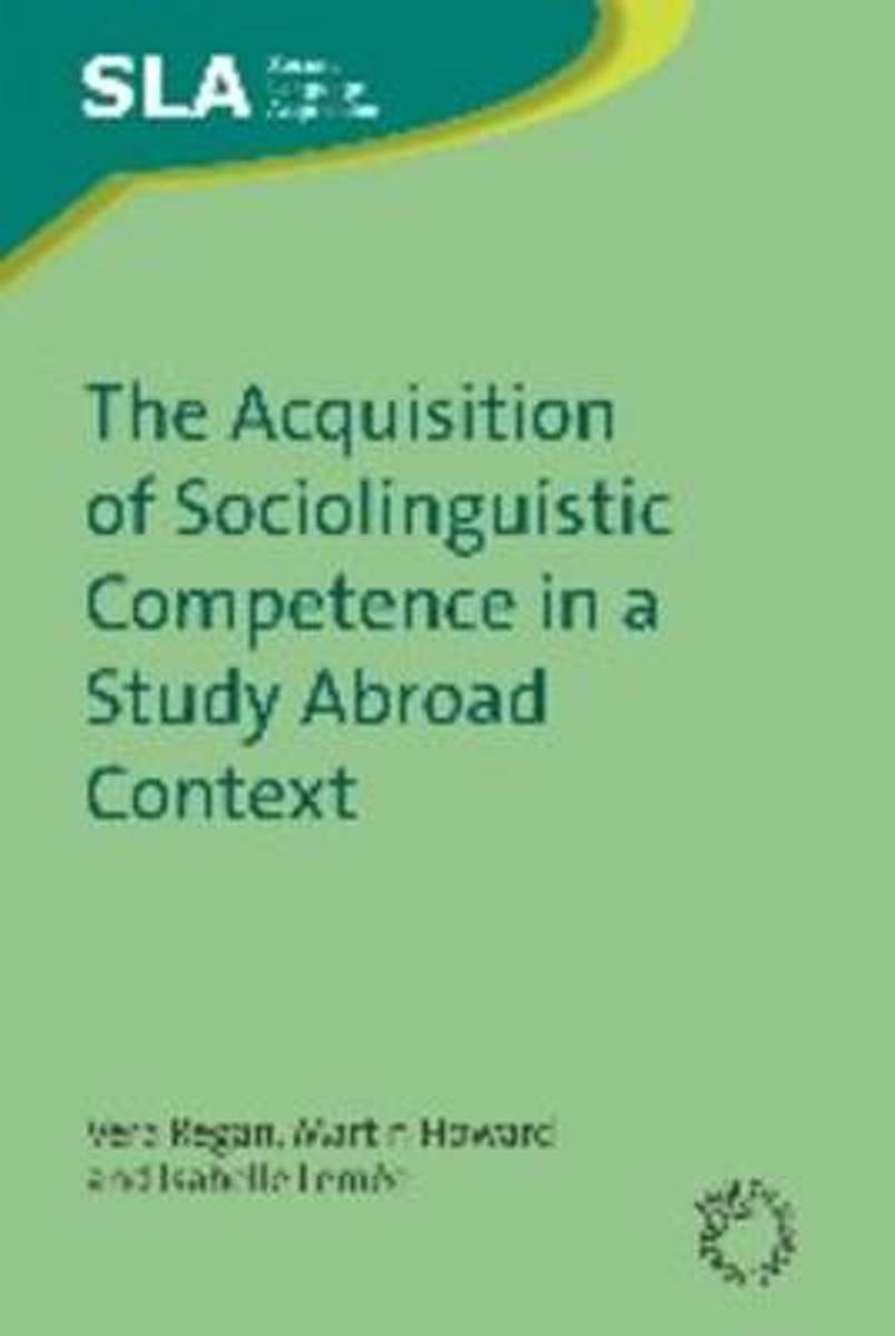 The Acquisition of Sociolinguistic Competence in a Study Abroad Context