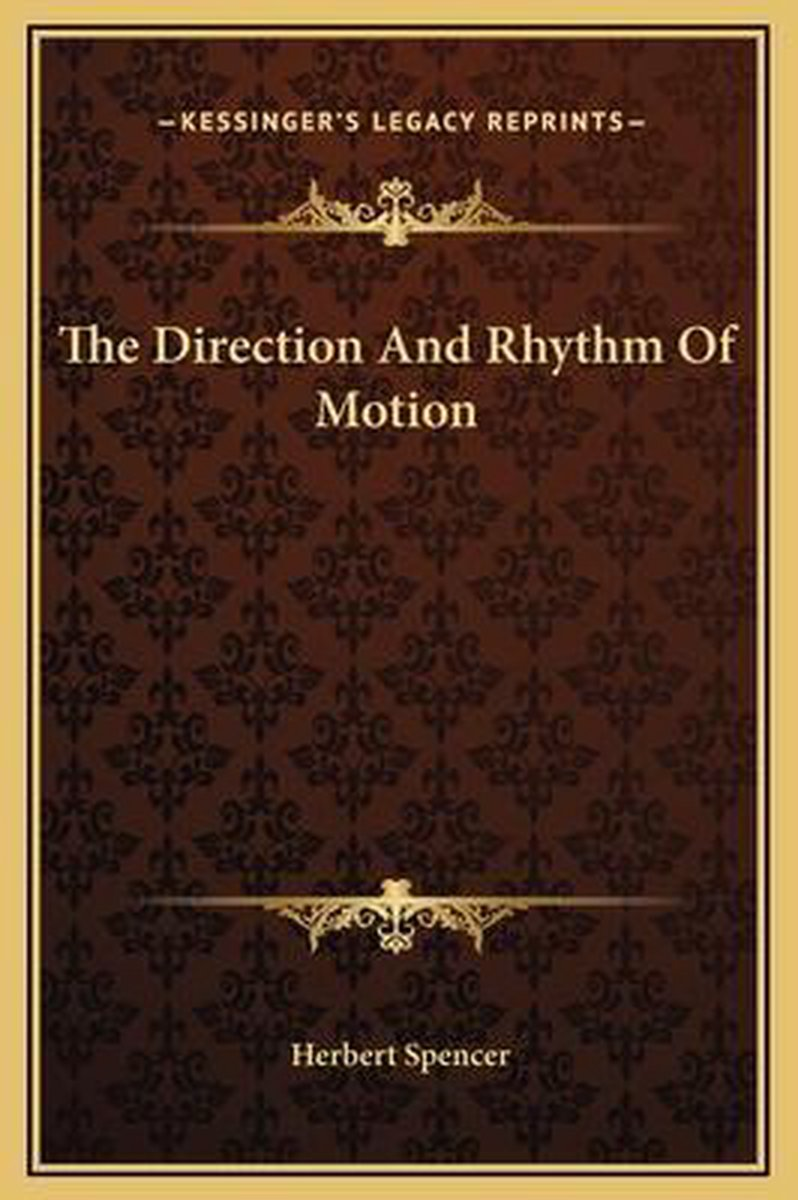 The Direction and Rhythm of Motion