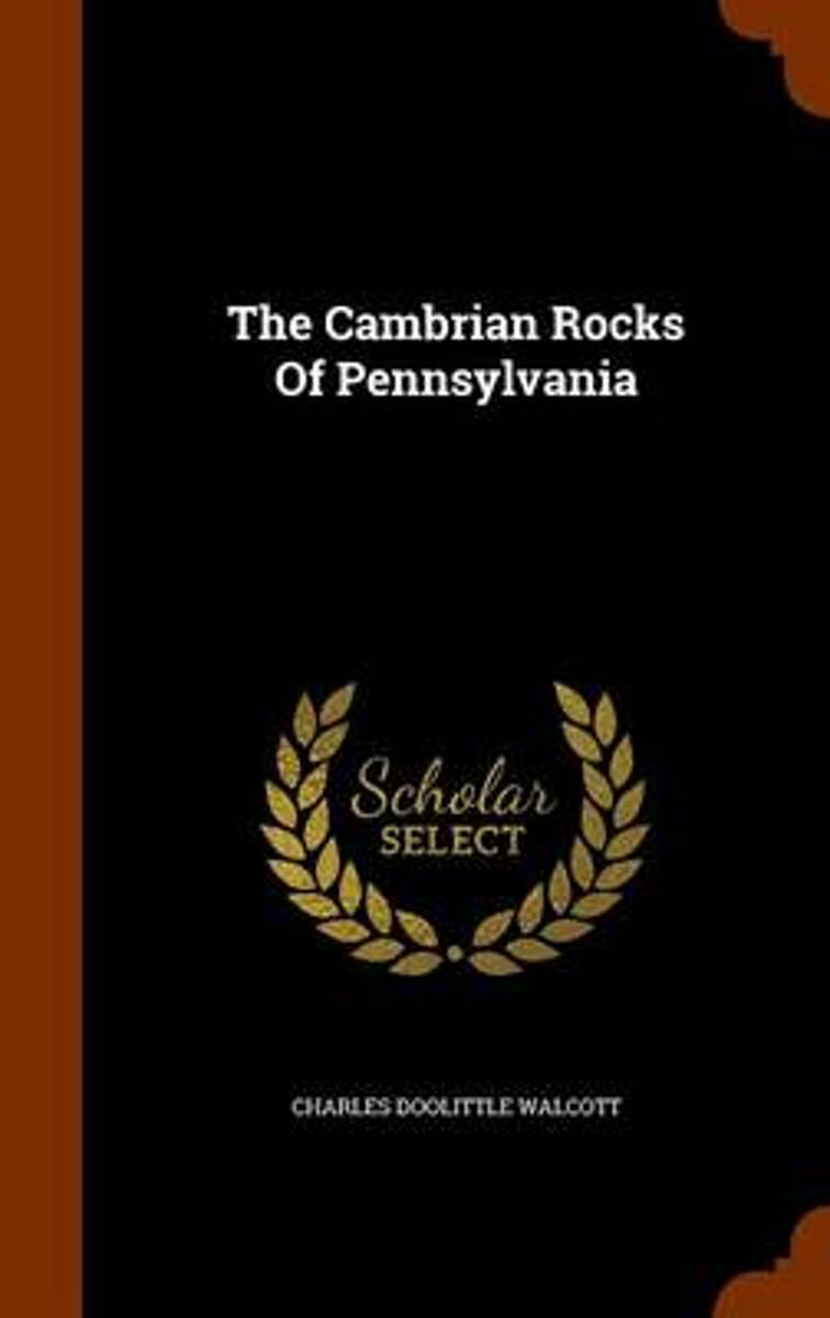 The Cambrian Rocks of Pennsylvania