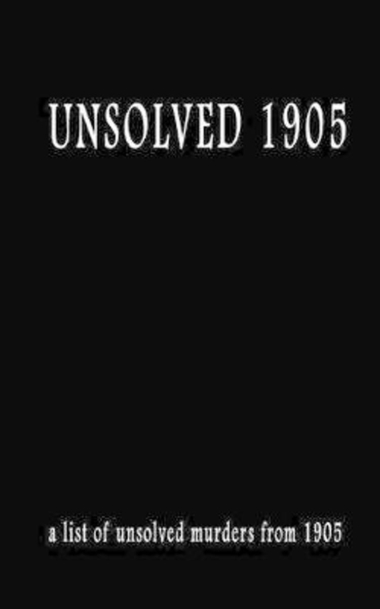 Unsolved 1905