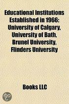 Educational institutions established in 1966