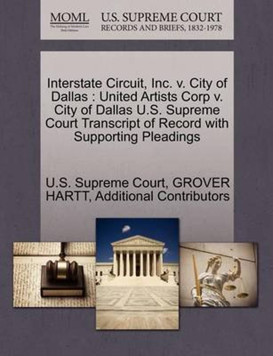 Interstate Circuit, Inc. V. City of Dallas