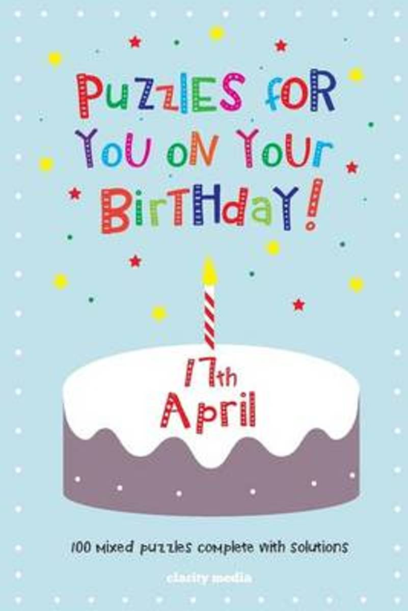 Puzzles for You on Your Birthday - 17th April