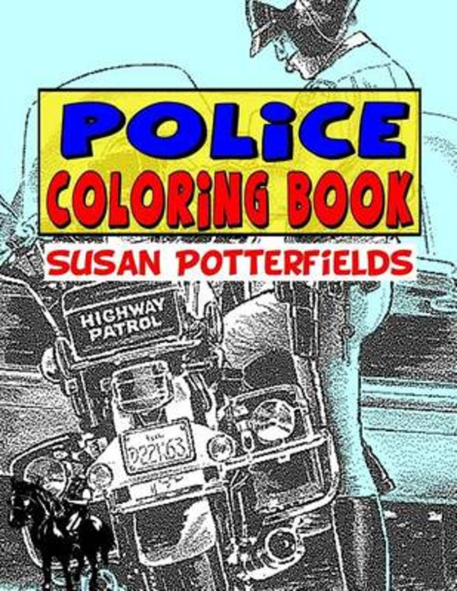 Police Coloring Book