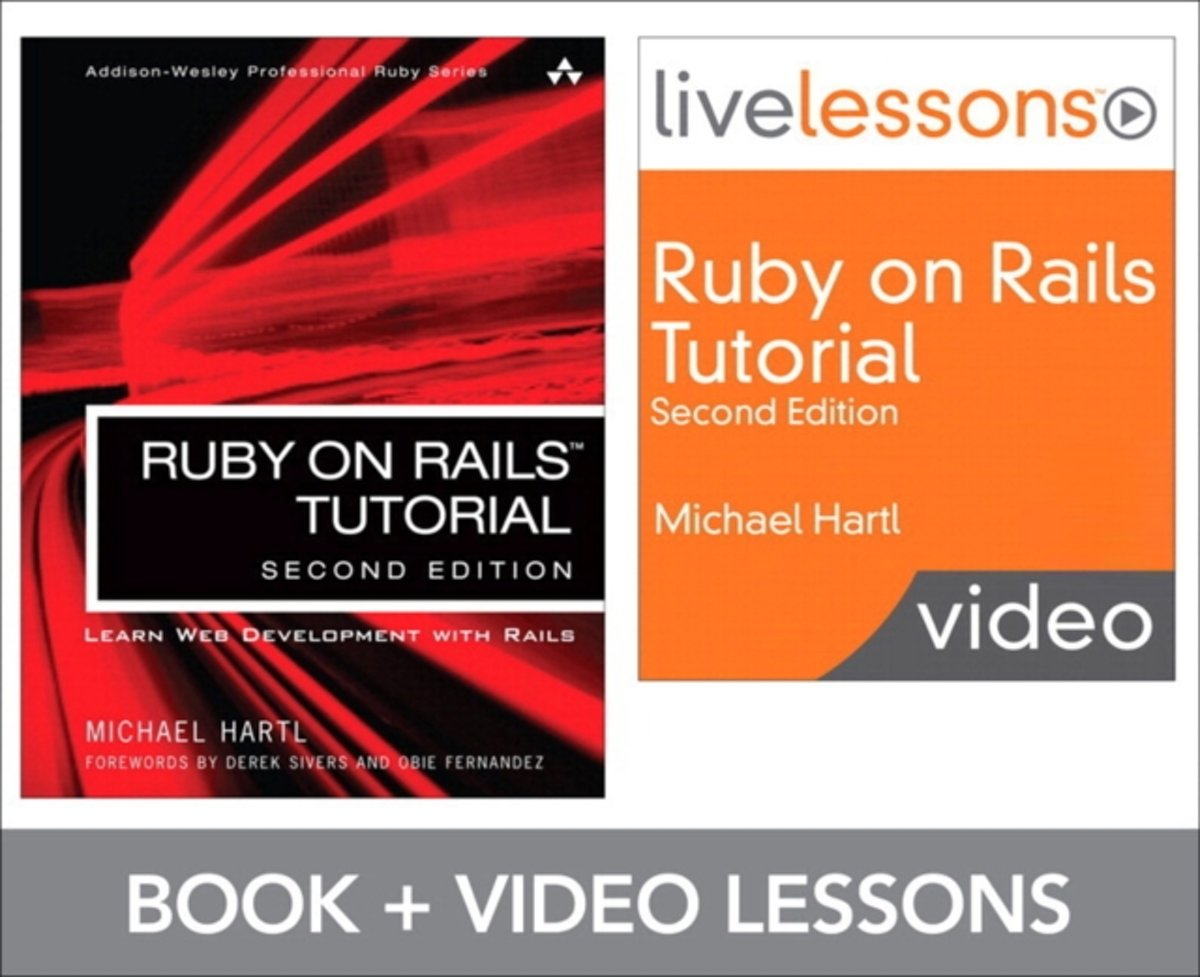 Ruby on Rails Tutorial and LiveLesson Video Bundle