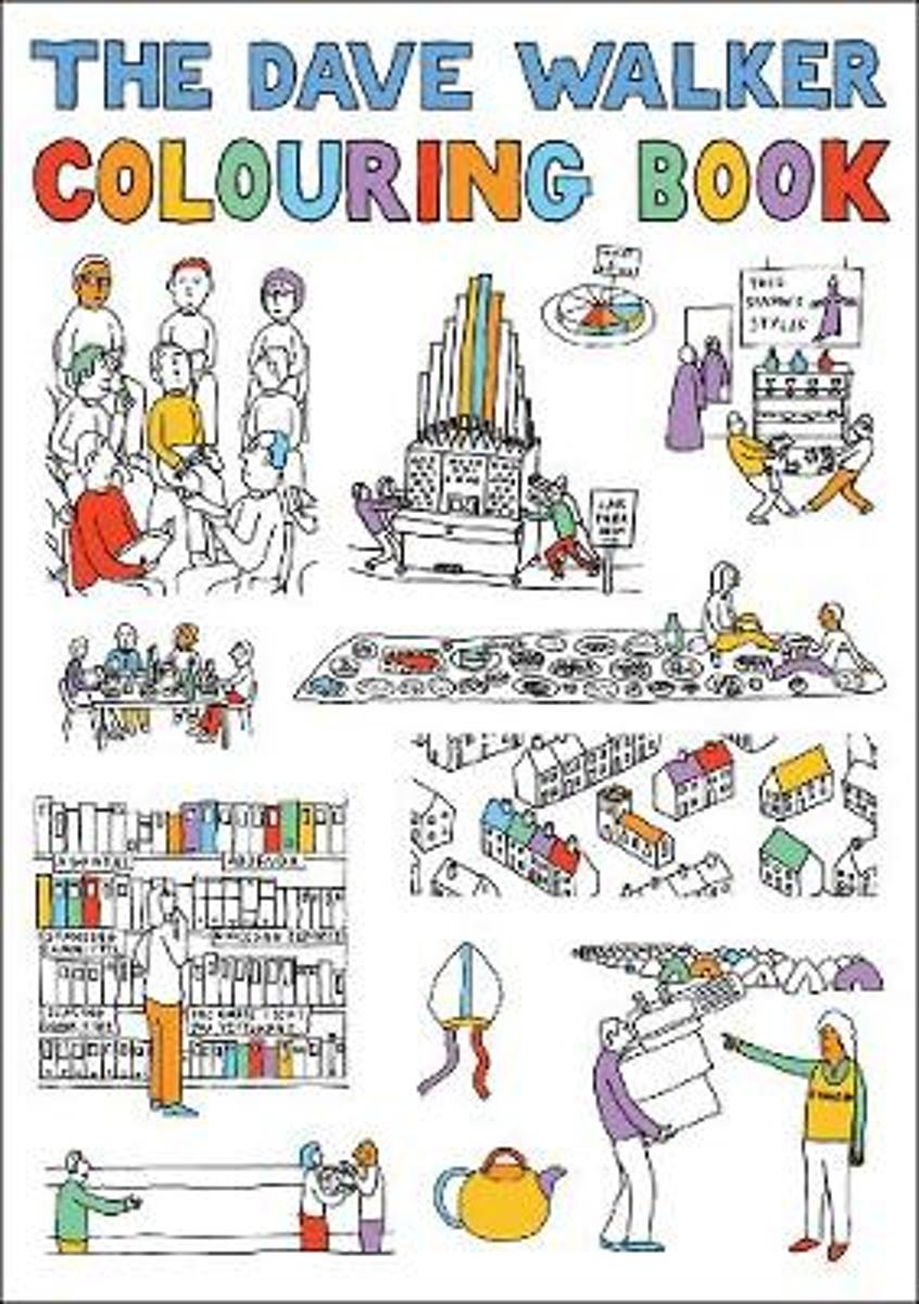 The Dave Walker Colouring Book