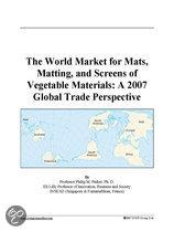 The World Market for Mats, Matting, and Screens of Vegetable Materials