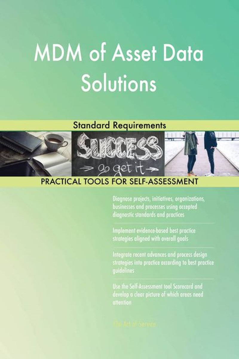 MDM of Asset Data Solutions Standard Requirements