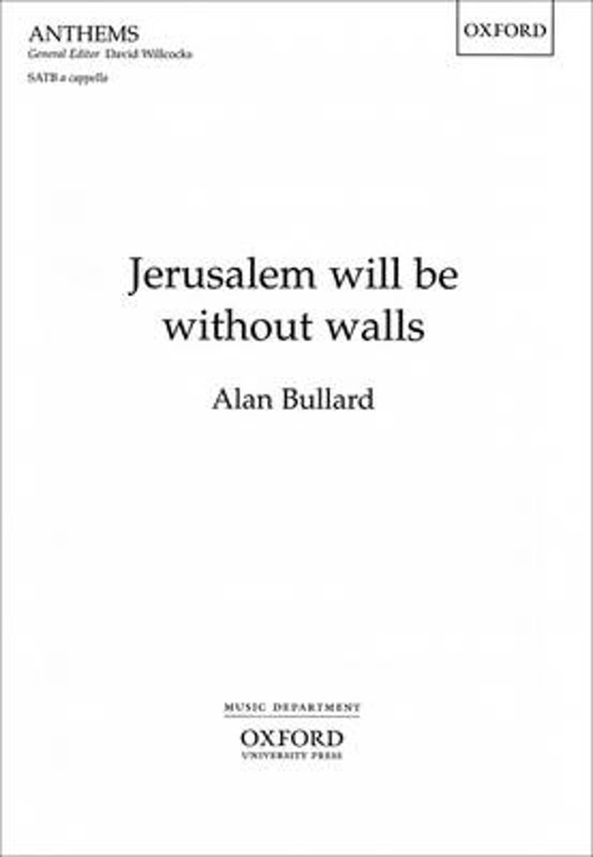 Jerusalem will be without walls