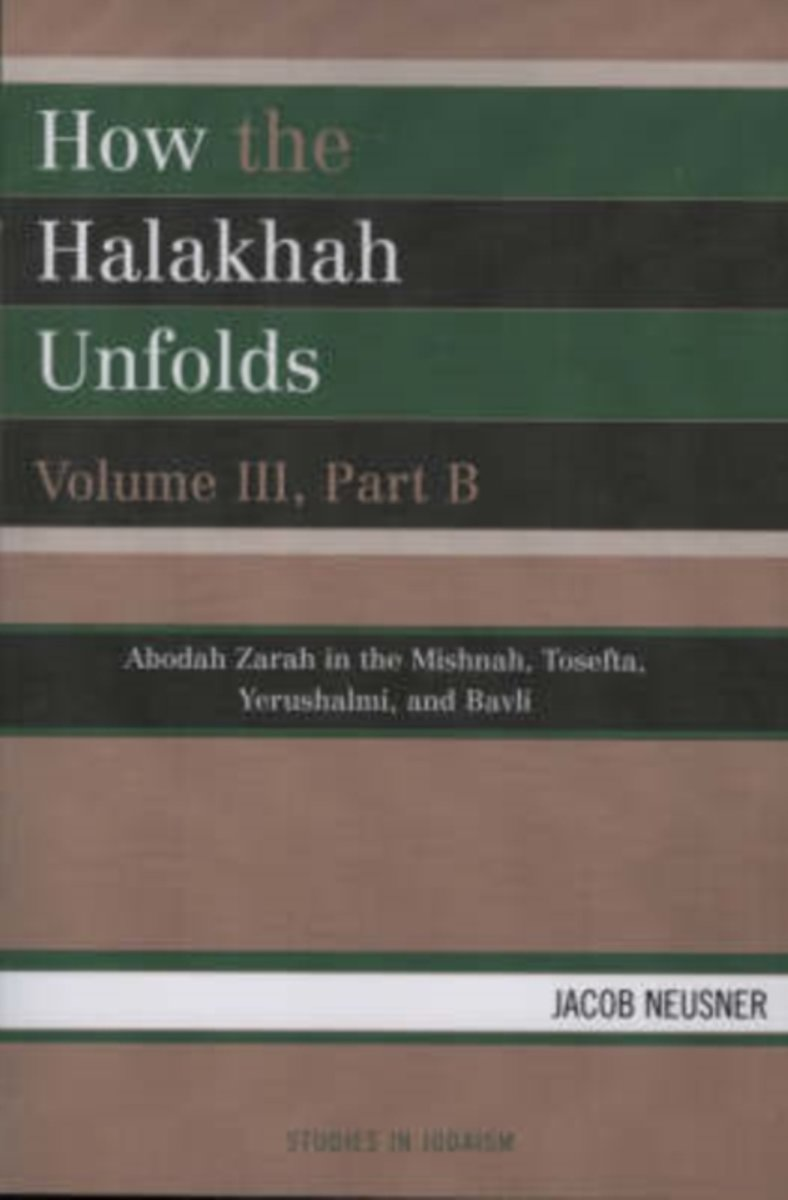 How the Halakhah Unfolds
