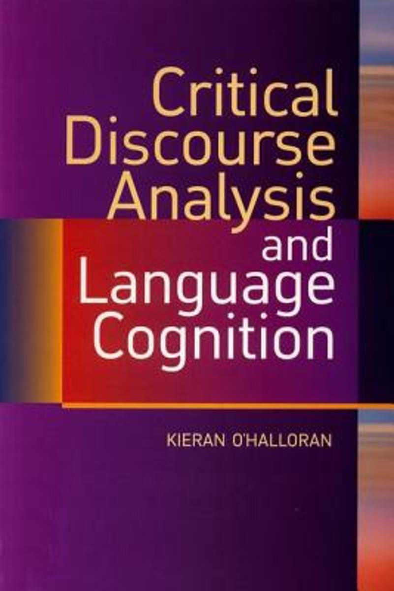 Critical Discourse Analysis and Language Cognition