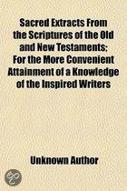Sacred Extracts from the Scriptures of T