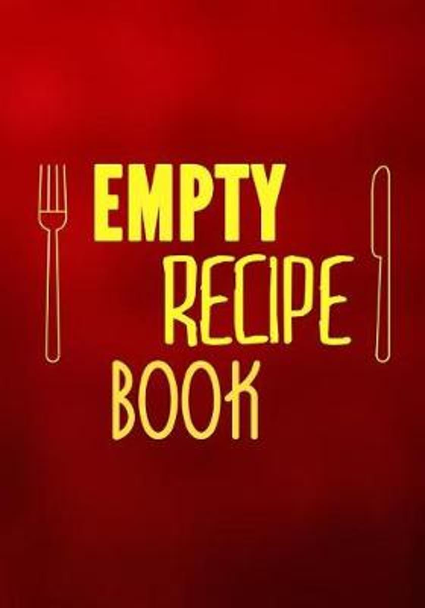 Empty Recipe Book